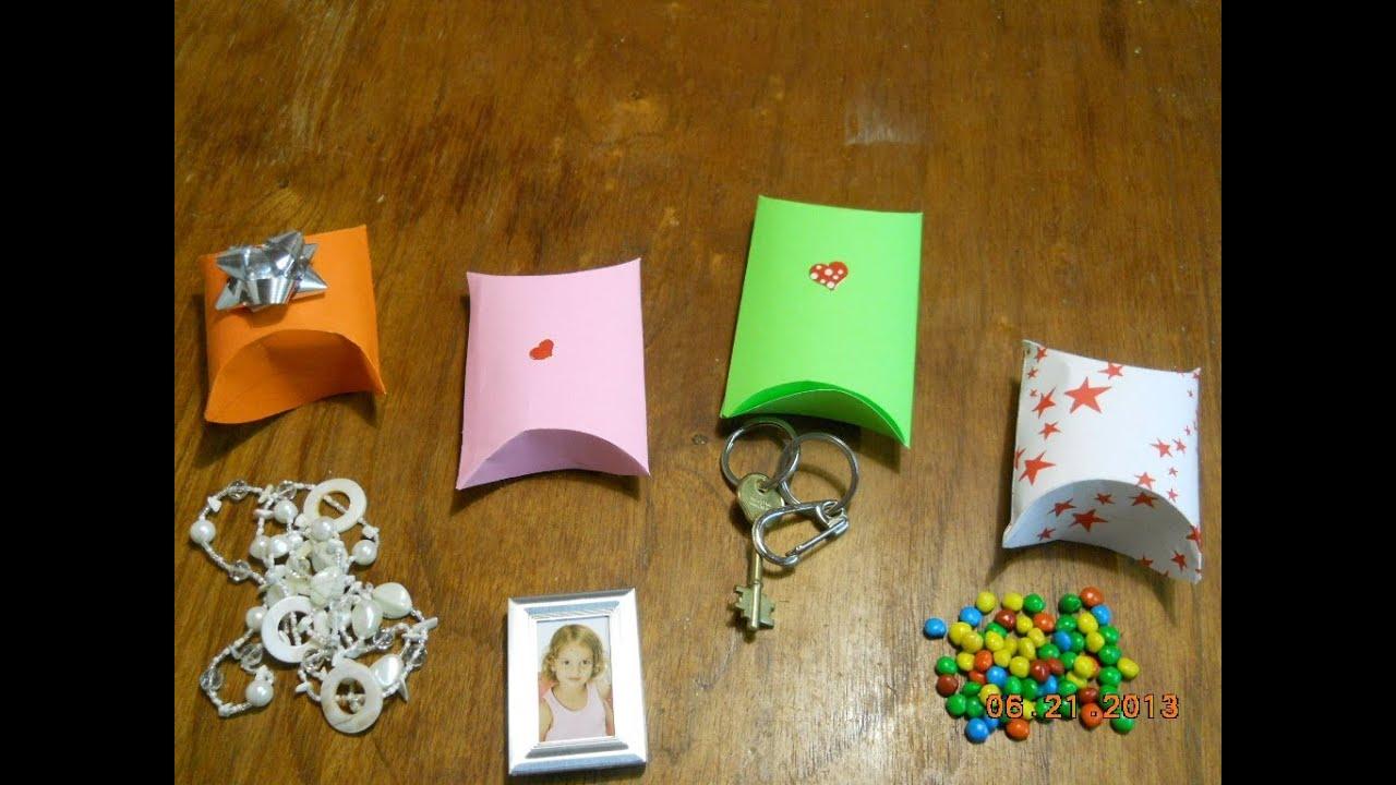 Como hacer un estuche para regalo gift box youtube for Regalos abuela ideas