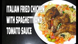 Fried Chicken with Spaghetti - Youtube