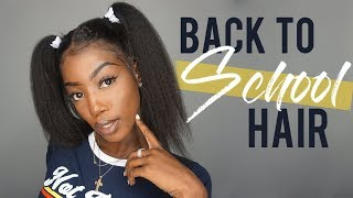 BACK TO SCHOOL HAIR | RPGHAIR LACE FRONT WIG
