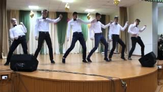 танец-подарок на 8 марта 2016.парни-огонь.СШ№14 г.Бреста