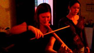 [Early Music Endeavours with PrestoDan]  Cynthia Roberts and the Bamboo Violin!  (May 2008)
