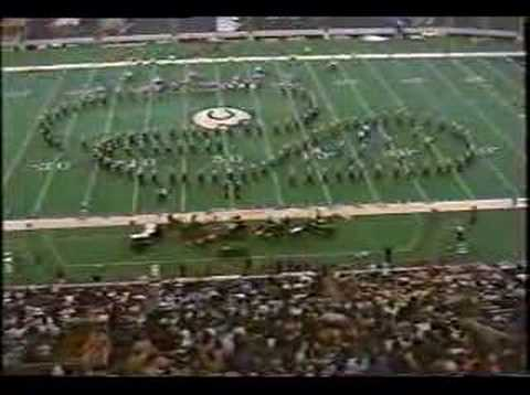 Goshen High School Marching Band 1995 State Finals