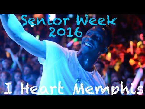 Senior Week 2016 I Heart Memphis