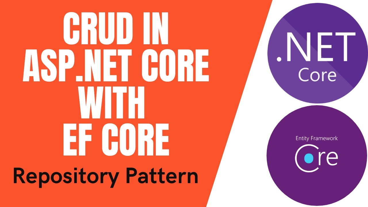 CRUD Operation in Asp Net Core MVC 5 using Entity Framework Core with Repository Pattern