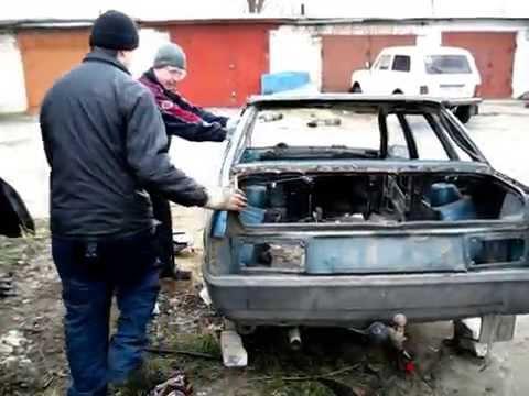 как правильно разрезать кузов автомобиля