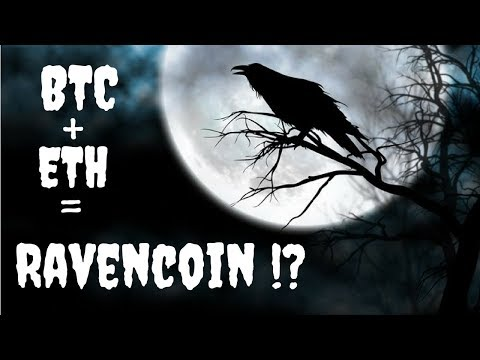 Ravencoin Review! RVN a Bitcoin and Ethereum Hybrid?