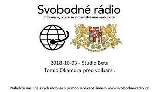 2018-10-03 - Studio Beta - Tomio Okamura před volbami.