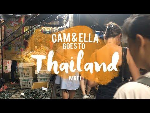 What we did in Thailand (Namalengke) | EPISODE4 | Part 1 | Cam & Ella