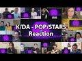 """K/DA - POP/STARS Music Video """"Reaction Mashup"""""""