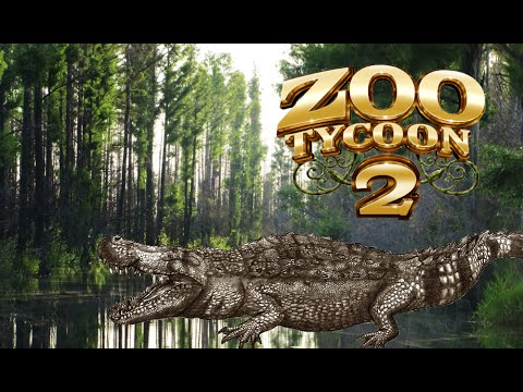Zoo Tycoon 2: Purussaurus Exhibit Speed Build