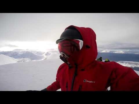 Freeride Skiing around Troms Region, Norway (Tromsø, Kåfjord, and Lyngen)