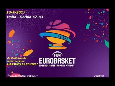 Eurobasket 2017 alla radio: Serbia - Italia 83-67