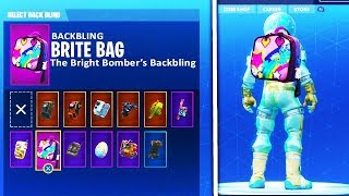 "*NEW* WAY ON HOW TO UNLOCK SECRET ""BRITE BAG"" Back Bling in Fortnite! (UNLOCK SECRET ITEM)"