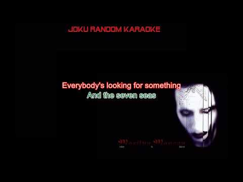 Marilyn Manson - Sweet Dreams (Are Made Of This) [Karaoke]