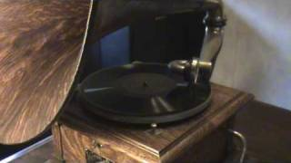 85 YEAR OLD Civil War Veteran Lauren Higbie Recorded On Early 78rpm Record