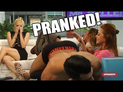 I got pranked at work with a STRIPPER! (Full Video)