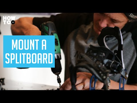 How To Set up a Splitboard with Xavier De Le Rue | HOW TO XV