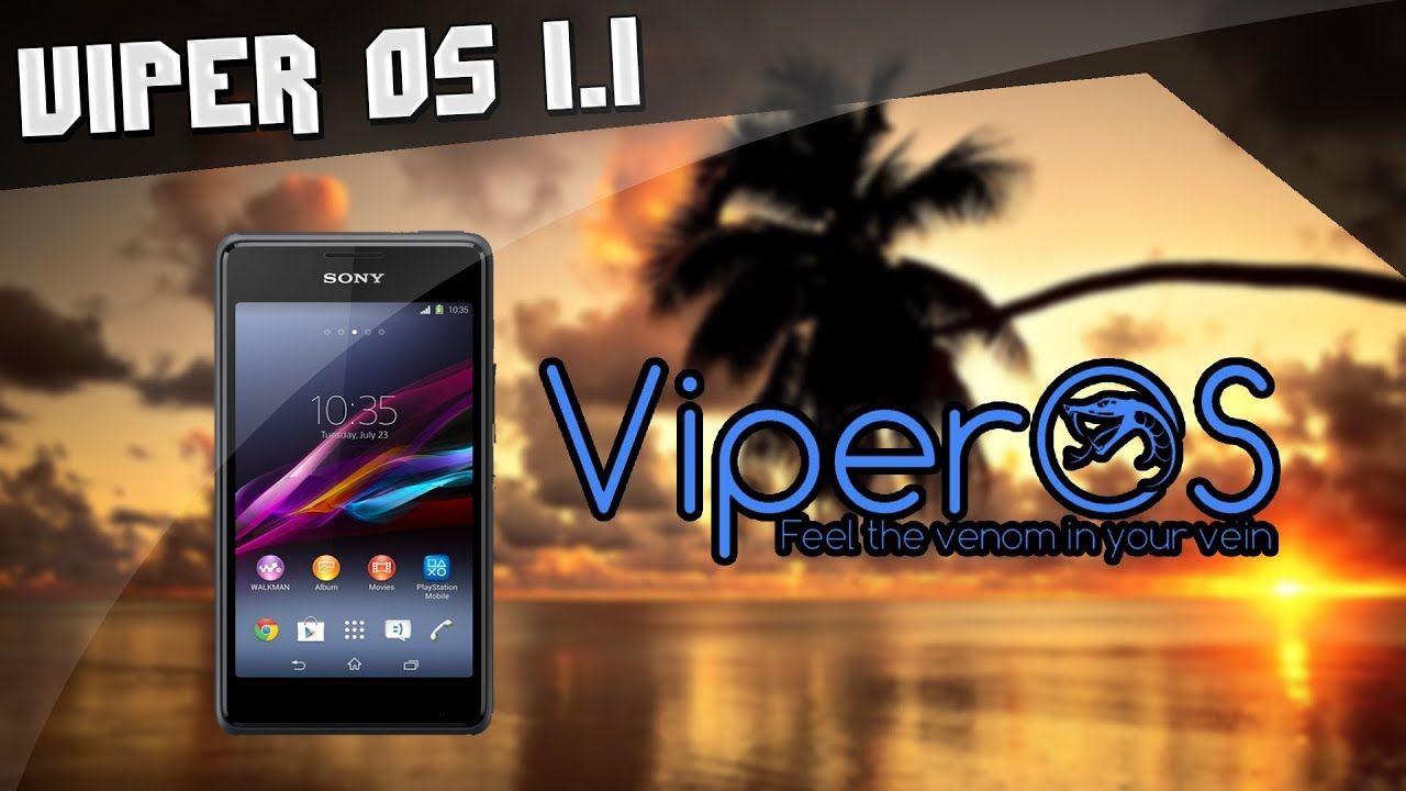 ROM Viper OS V1 1 Nougat [7 1 2] - Sony Xperia E1 Dual (D2114) ‹ Video By  JL Tutoriais ›
