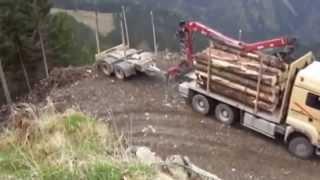 Приколы с грузовыми автомобилями