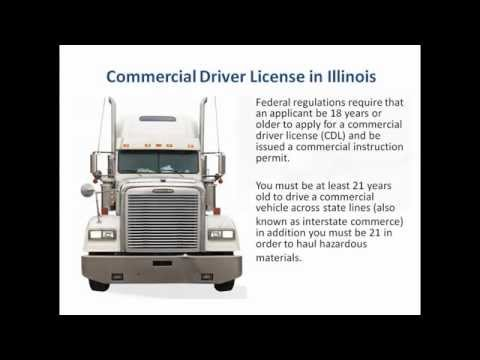 CDL in Illinois - Commercial Drivers License Illinois
