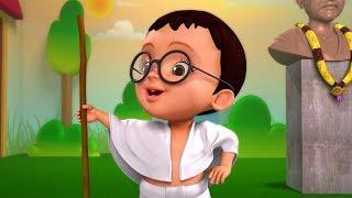 Mahatma Gandhi Fancy Dress Theme Kids Song | Telugu Rhymes for Children | Infobells