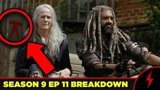 WALKING DEAD 9x11 BREAKDOWN - Details You Missed!