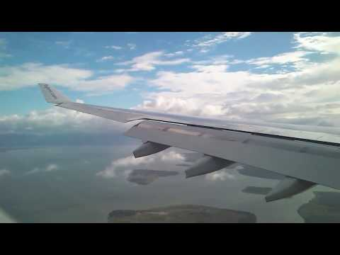 #THROWBACK BMI A330-200 Approach & Landing in Freetown, Sierra Leone from London Heathrow