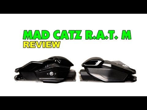 Mad Catz GameSmart R.A.T. M Wireless Mobile Gaming Mouse Unboxing & Review