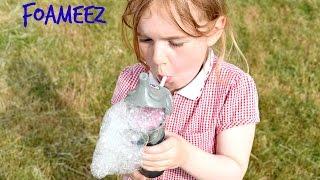 foameeZ: Blowing Bubbles that Never End Review!   Beau's Toy Farm