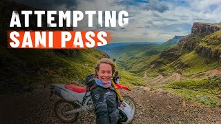 Attempt to ride Sani Pass on a Honda CRF250L - it's HECTIC!! [S5 - Eps. 14]