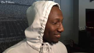 Repeat youtube video Deebo Samuel talks football, hoops