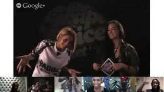 Ciara 'Live in London' Google+ Hangout with That Grape Juice