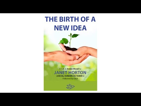 """""""The Birth of a New Idea"""" by Janet Horton"""