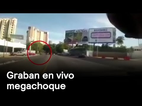 Accidente en Acapulco - Accidentes - En Punto con Denise Maerker