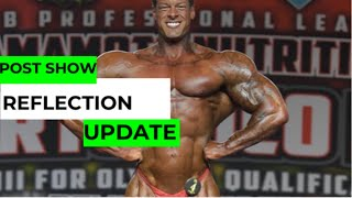 POST PUERTO RICO PRO REFLECTION // INSIDE THE MIND OF A BODYBUILDER POST COMP BREAKDOWN