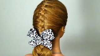 ! Braided hairstyle for every day!