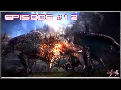 Final Fantasy 13-2 - The Weather Changing Hunter's - Archylte Steppe - Episode 12