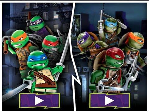 Lego TMNT Game Ninja Turtles Shell Shocked Video Game - YouTube