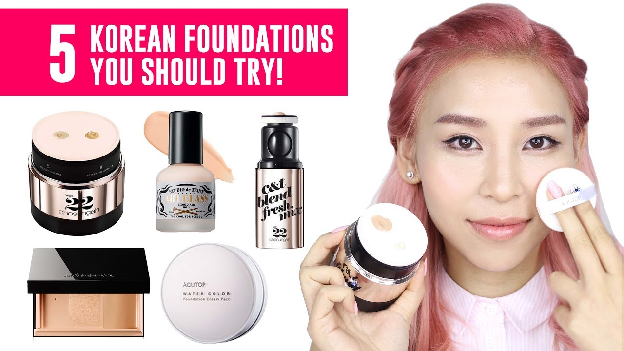 5 Korean Foundations You Should Try!