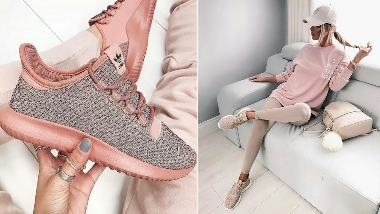 Outfit con tenis mujer 2019