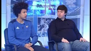 Спортивная неделя.Гости студии Иссуф Санон и Александр Мунтян.Тема-трансфер в Олимпию и БК Днепр 3.