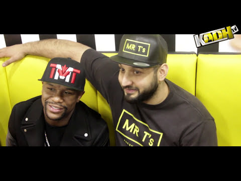 Floyd Mayweather - Appearance at Mr T's (Bradford) FANS GOES CRAZY!!!