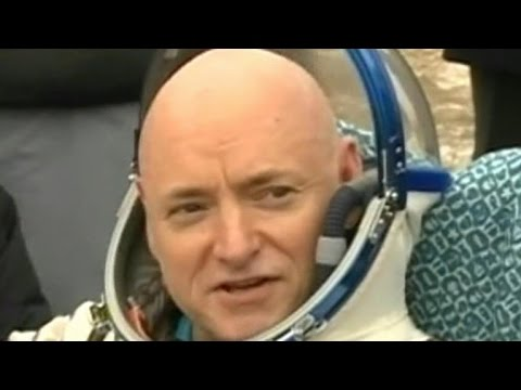 Scott Kelly returns to Earth after nearly a year in space