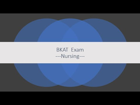 Bkat Exam Study Guide To Help You Get A 100 Youtube