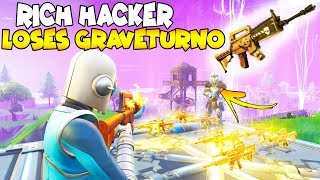 Rich Hacker Loses MYTHIC Graveturno! 😱 (Scammer Gets Scammed) Fortnite Save The World
