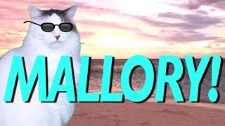 HAPPY BIRTHDAY MALLORY! - EPIC CAT Happy Birthday Song