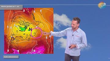Die aktuelle Wettervorhersage für den 23. Juni: Hitze in Sibirien, tadelloses Sommerwetter bei uns.