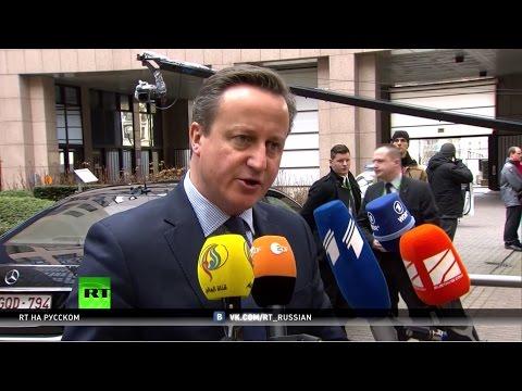 4 требования Кэмерона: в Брюсселе обсуждают изменение условий членства Британии в ЕС
