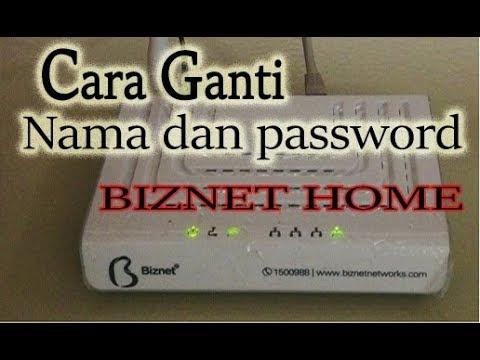 Cara Ganti Password Wifi Biznet