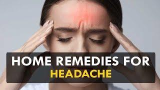 Home remedies for headache - Health Sutra